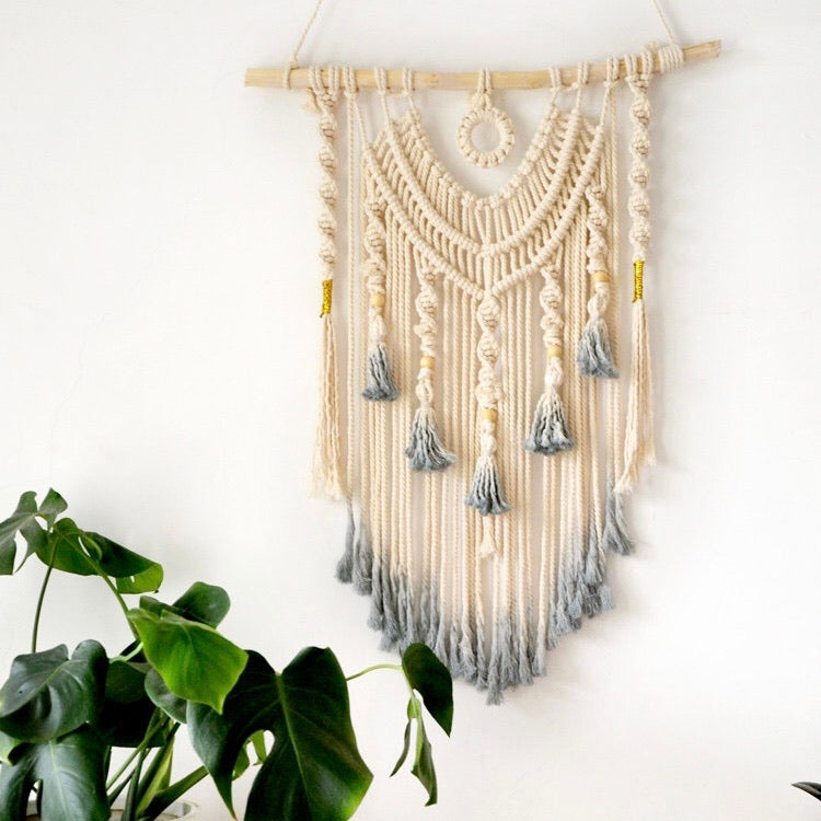 Hand Woven Dyed Bohemian Decorative Wall Decor