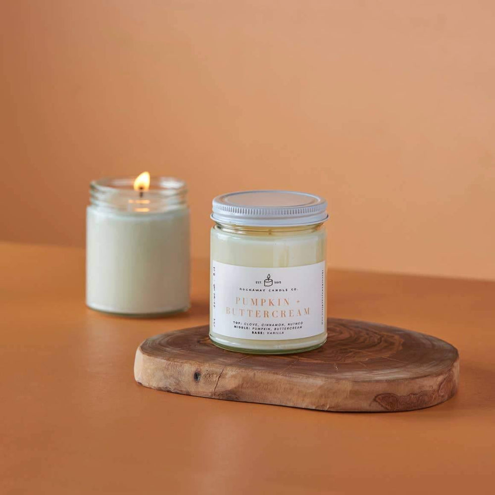 Pumpkin Buttercream Soy Candle - Seasonal Collection
