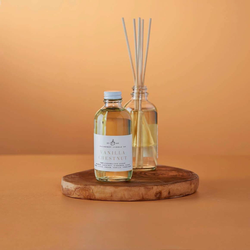 Vanilla Chestnut Reed Diffuser - Seasonal Collection