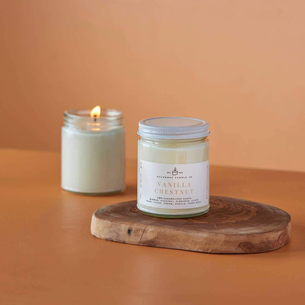 Vanilla Chestnut Soy Candle - Seasonal Collection