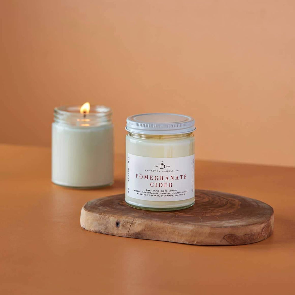 Pomegranate Cider Soy Candle - Seasonal Collection