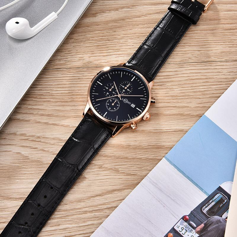 Classic Chrono Rose Gold/Black