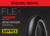 DAVDEV Flex Mousse® Rear Enduro MEDIUM (1,0 - 1,2 bar - 15-18 psi)