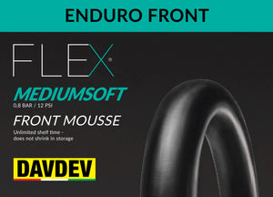 DAVDEV Flex Mousse® Front Enduro MEDIUMSOFT (0,8 bar - 11 psi)