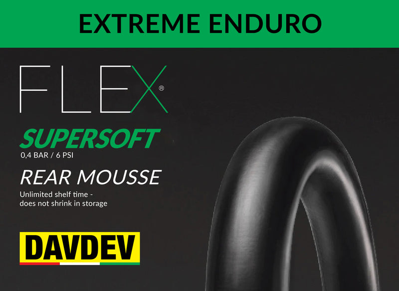 DAVDEV Flex Mousse® Rear Enduro SUPERSOFT (0,4 bar - 6 psi)