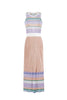 Multicolour- strips dress