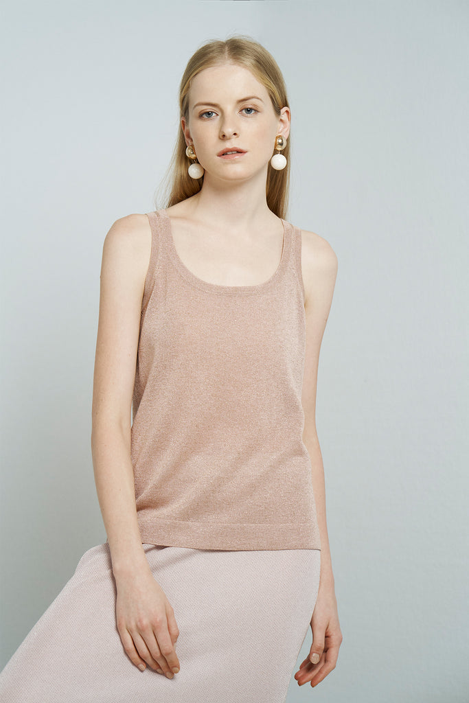 Lurex tank top