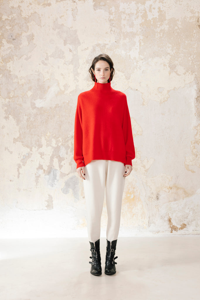 Rollneck Cashmere Tunic