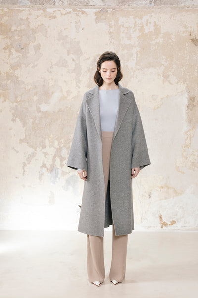 Oversized Coat Wool Cashmere Blend