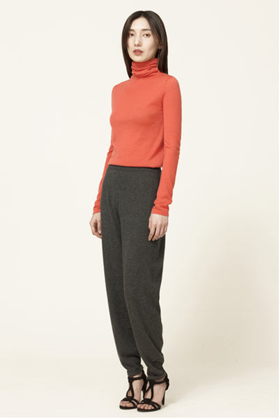 Rollneck cashmere top