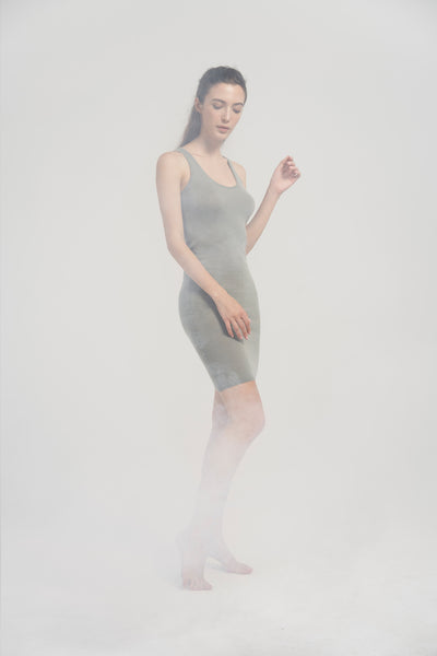 Cashmere knee-lenght dress