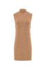 Ribbed Wool Sleeveless Top