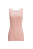 Ribbed Silk Tank Top