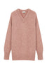 V-neck Sweater Speckled Cashmere