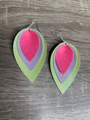 Handmade Triple Earrings