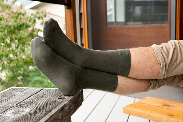 Charcoal Luxury 3-Pack | Silkii Life | Men's Socks