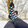Ladies' Groovy Polka Dot | Women's Socks