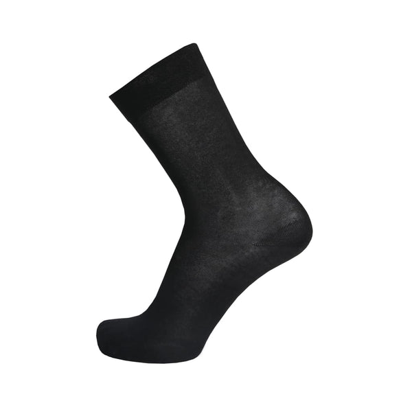 Stylish Bamboo Mens Dress Sock - Black
