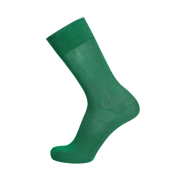 Stylish Bamboo Mens Dress Sock - Green