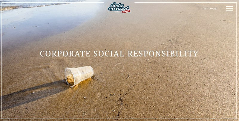 Corporate Social Beach Cleaning Responsibility