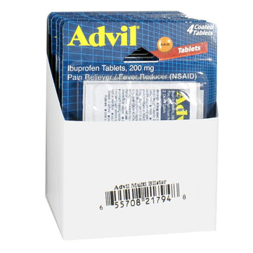 Advil Ibuprofen Carded - Card of 4