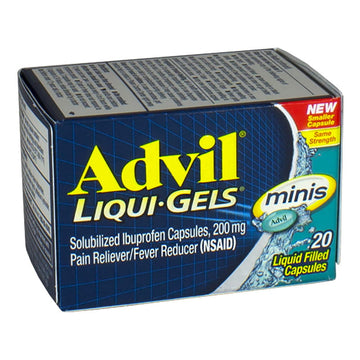 Advil Liqui-gels Minis - Box of 20