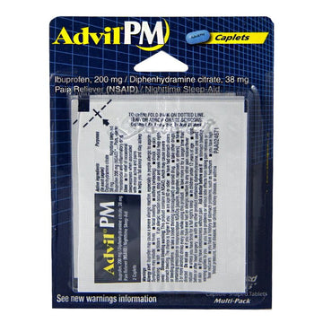 Advil PM Ibuprofen Carded - Card of 4