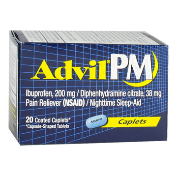 Advil PM Ibuprofen Box - Box of 20