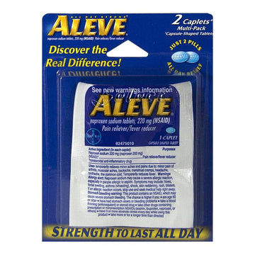 Aleve Carded - Card of 2