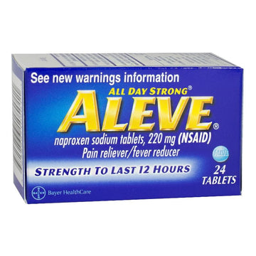 Aleve Tablets Box - Box of 24