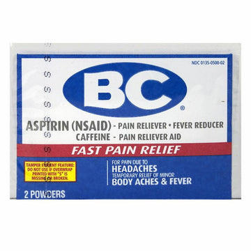 B.C. Aspirin Powder - Pack of 2