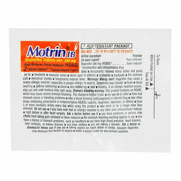 Motrin Ibuprofen - Pack of 2