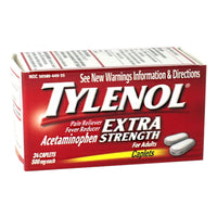 Tylenol Extra Strength, Box of 24 ct