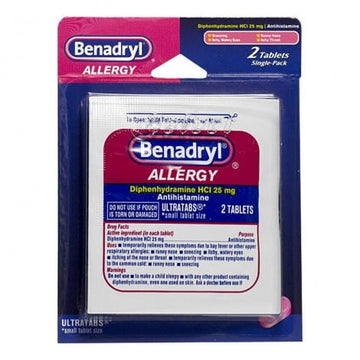 Benadryl Allergy - Card of 2