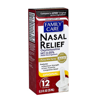 Family Care Nasal Spray - 0.5 oz.