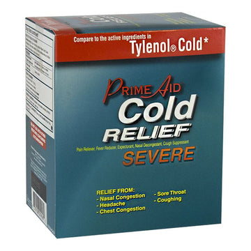 DISCONTINUED - Prime Aid Compare to Tylenol Cold - Pack of 2