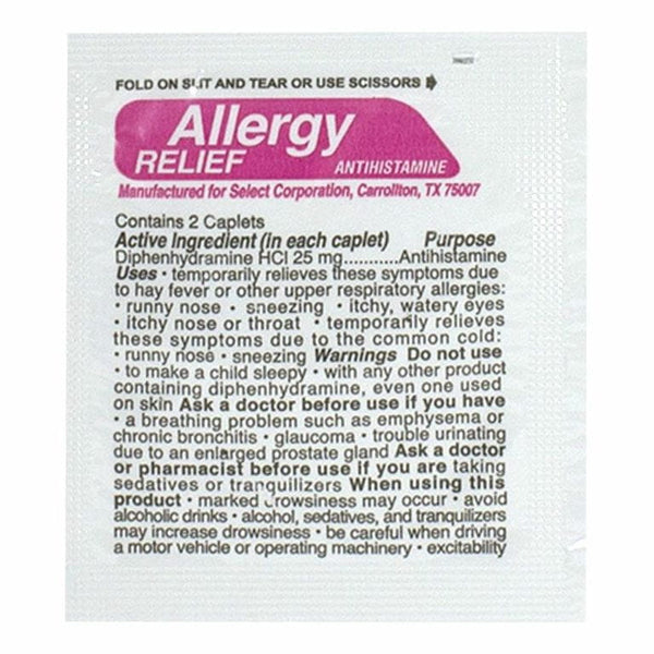 Prime Aid Allergy Relief Compare to Benadryl - Pack of 2