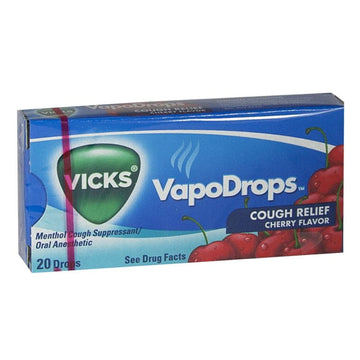 Vicks VapoDrops Cherry - Box of 20 Drops