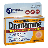 Dramamine Motion Sickness Relief Chewables - Box of 8
