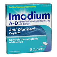 Imodium Anti-Diarrheal - Box of  6