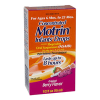 Motrin Concentrated Infants' Drops - 0.5 oz.