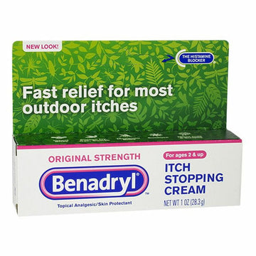 Benadryl Itch Stopping Cream - 1 oz.