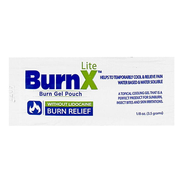 BurnX Lite First Aid Cooling Gel, Packet - 1/8 oz. Foil Packet