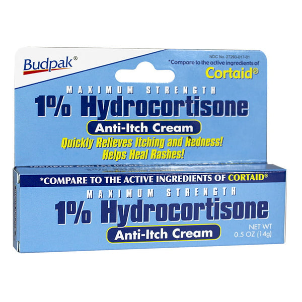 Hydrocortisone 1% Anti-Itch Cream - 0.5 oz