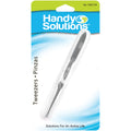 Handy Solutions Slant Tip Tweezers - Card of 1
