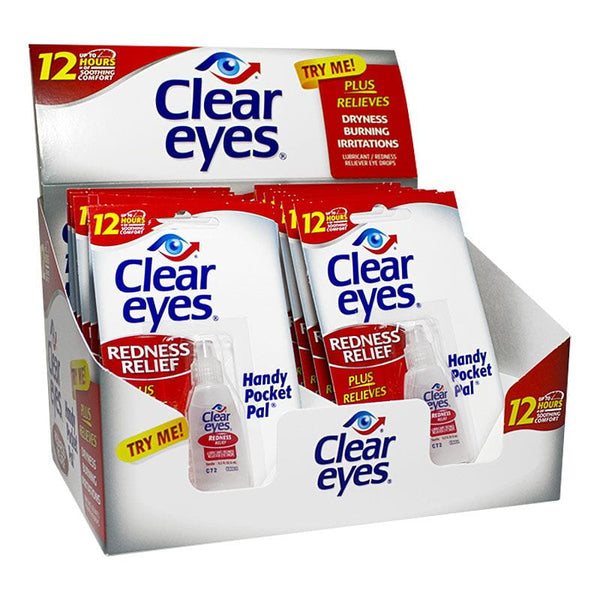 Clear Eyes Redness Relief Eye Drops - 0.2 oz.