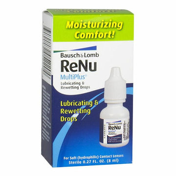 Bausch & Lomb ReNu Lubricating & Rewetting Drops - 0.27 oz.