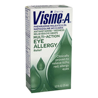 Visine-A Allergy Relief Eye Drops - 0.5  oz.