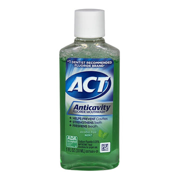Act Anticavity Fluoride Mouthwash - 1 oz.