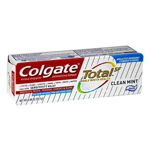 Colgate Total Clean Mint Toothpaste - 0.88 oz.
